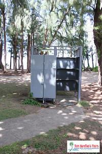 Changing Room at Kahana Beach