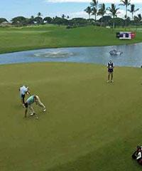 Play a Round of Golf at Kapolei Golf Course.