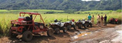 Travel Blog #072 - ATV's In The Mud With Kauai ATV (By Jake)