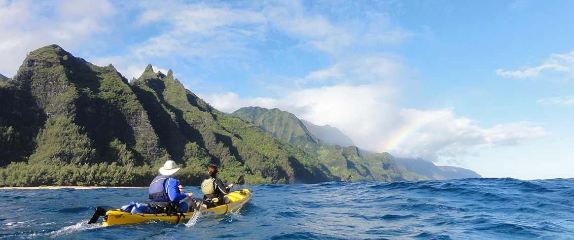Complete listing of all Kayaking Tours in Hawaii.