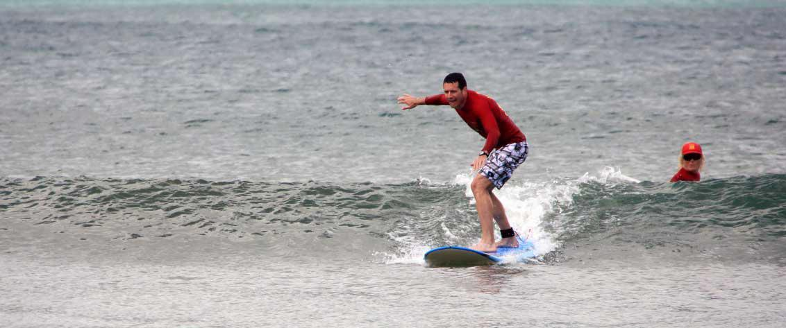Kauai Surf Lessons offer an ideal way to learn to surf Kauai.