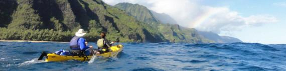 Travel Blog #107 - Kayak Kauai Outbound, Napali Coast Kayak (By Jake)