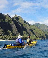 Kayak - Wailua Sacred Falls
