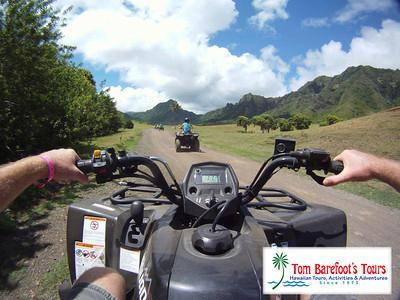 Make a reservation for Kualoa Ranch!