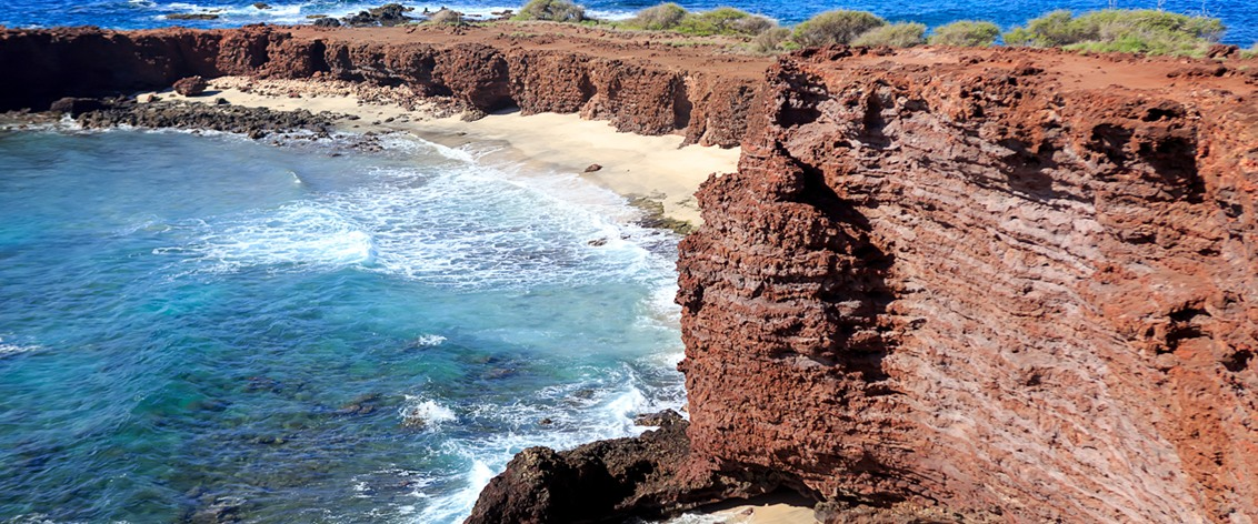 Almost all the tours of Lanai originate on Maui.