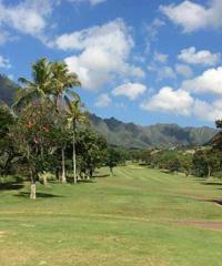Play a Round of Golf at the Makaha Valley Golf Course.