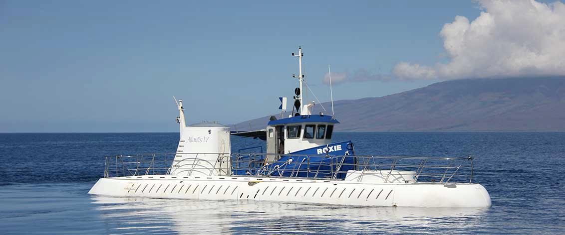 Submarines and Glass-Bottom Boats on Maui