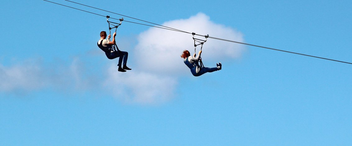 Maui Zipline Tours are quite different from each other.