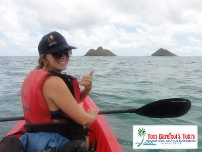 Mokulia islands kayak excursion