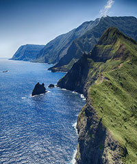 Reserve the 50-60 Minute West / Maui Molokai flight with Pacific Helicopters Tours Inc.
