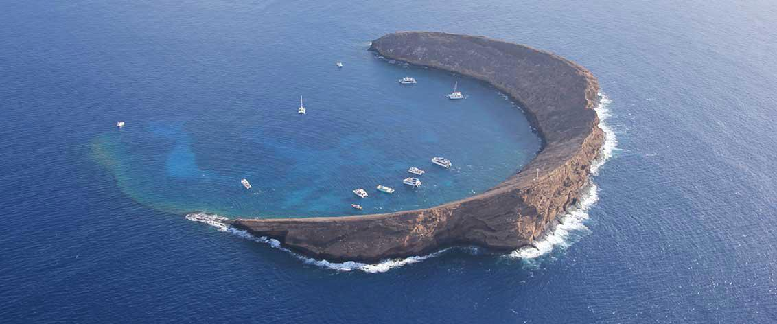 Your Molokini Snorkeling experience can happen from one of our many Molokini Snorkel Tours.