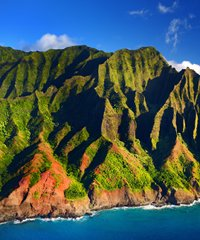 Napali coast tours offer the most spectacular views of Napali Cliffs and pristine Hawaiian waters.