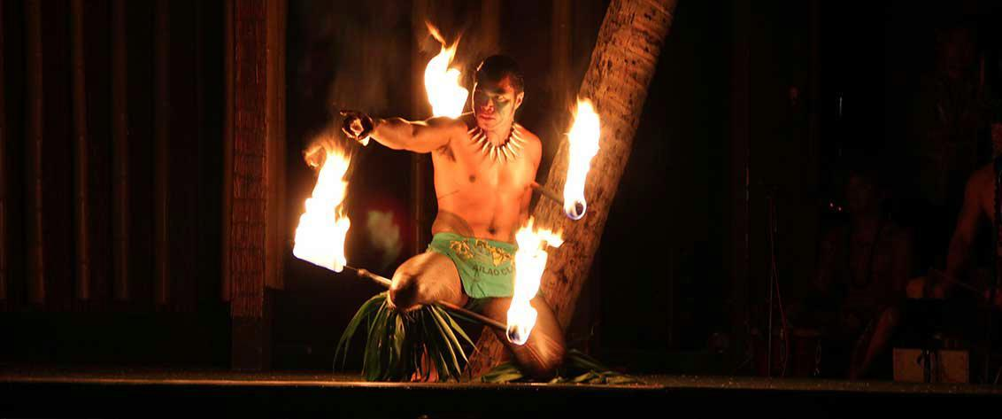 Oahu has many evening shows.