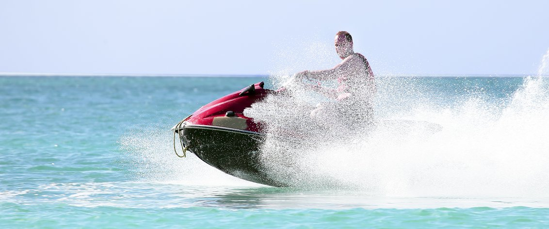 Jet Ski off Waikiki or Hawaii Kai.