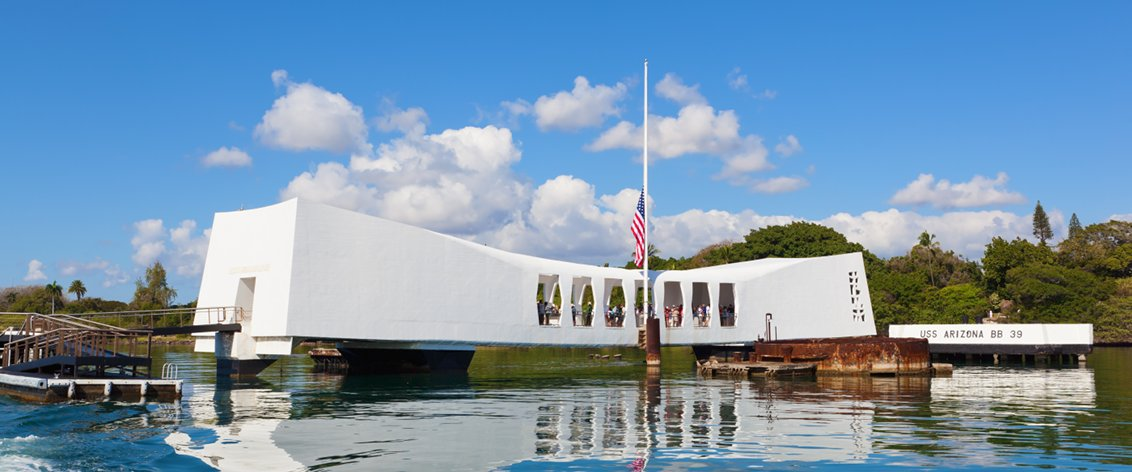 Pearl Harbor tours are the most popular tours in Hawaii.