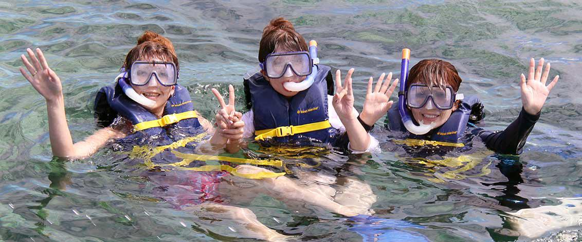 Oahu snorkeling tours are Oahu's most popular activity.