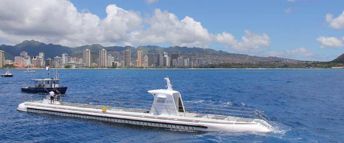 Take an Oahu Submarine Tour for a spectacular underwater adventure.