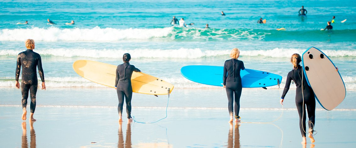 Surf Lessons on Oahu are becoming more and more popular.