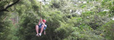Travel Blog #102 - Outfitters Kauai, Zipline Trek (By Jake)