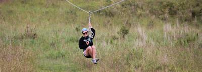 Travel Blog #142 - Ziplining In View Of The Volcano At Pa'ani Ranch