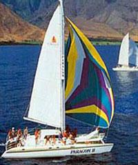 Paragon II Maalaea Pali Coast Sail and Snorkel