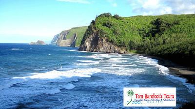 The Impressive View of Pololu Valley from the Lookout Point