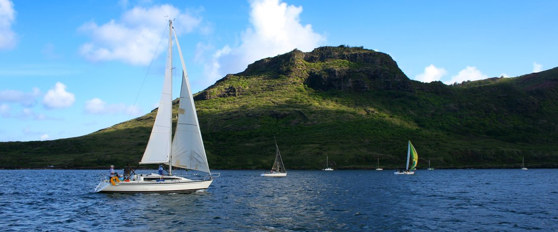 Hawaii sailing tours and Hawaii sailing charters are a 'staple' activity in the islands.