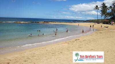 Salt Pond Is A People Friendly Beach