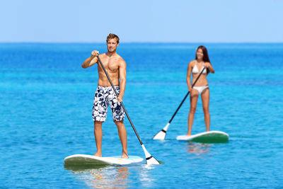Stand Up Paddling (SUP) is Considered Among the Best Overall Hawaiian Activities  for Your Health!