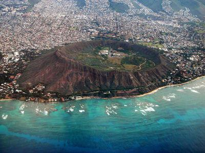 Why don't you climb to the top of Diamond Head Crater?