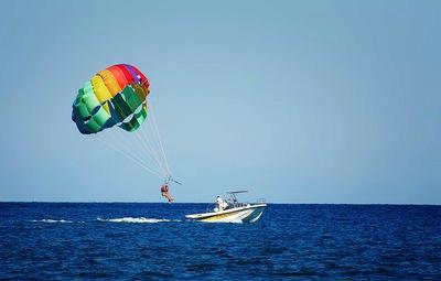 The First Days of Parasailing in Hawaii.