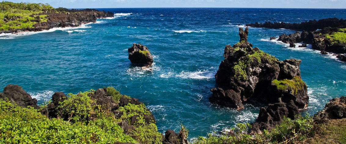 Sightseeing Land Tours and Road to Hana activities on Maui.