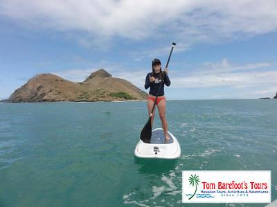 SUP to Mokuleia Islands