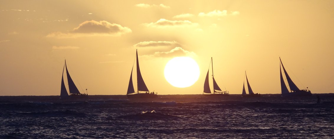 Sunset Cruises are beautiful on Kauai