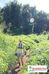 hiking wailua falls
