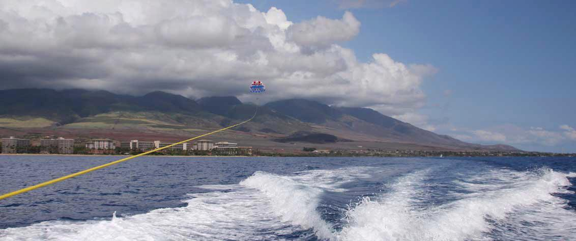 Listing of all parasailing tours in Hawaii for extreme adventure tours.