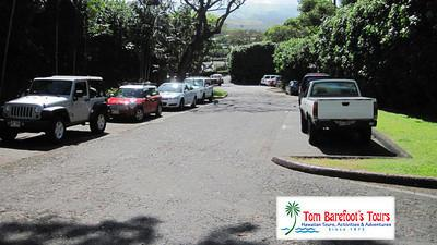 Parking at Ulua Beach