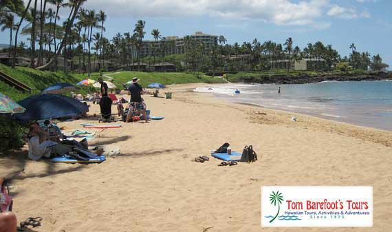 Golden Sand and Beach Fun at Ulua Beach