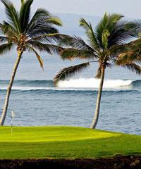 Reserve a Tee Time at one of  the Waikoloa Beach Resort Golf  courses.