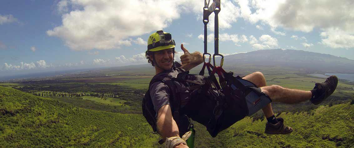Listing of all Zipline Tours in Hawaii.