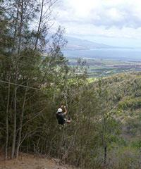 Zipline Tour - Flyin Hawaiian Zipline on Maui